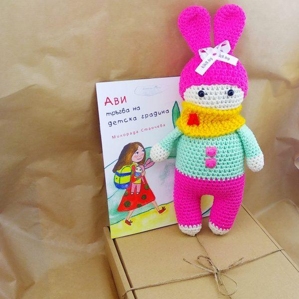 kikabg кукла с книжка